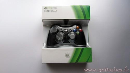Achat - Manette Xbox 360.