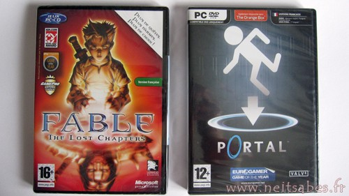 C'est arrivé - Fable The Lost Chapters et Portal (PC)