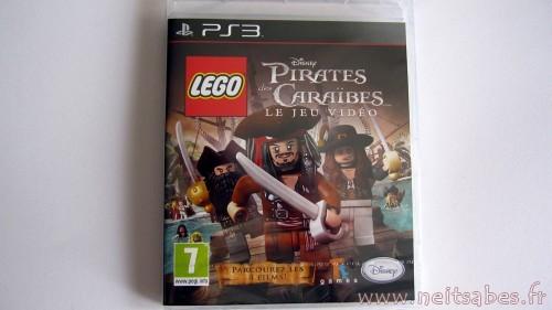 C'est arrivé - Lego Pirates Des Caraïbes (PS3)