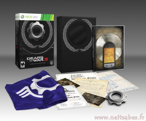 L'édition collector EPIC de Gears Of War 3 en image (Xbox 360)