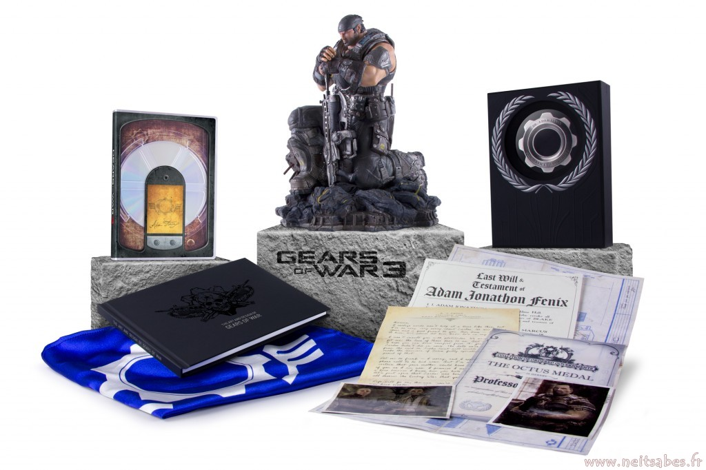 L'édition EPIC de Gears Of War 3 en image (Xbox 360)