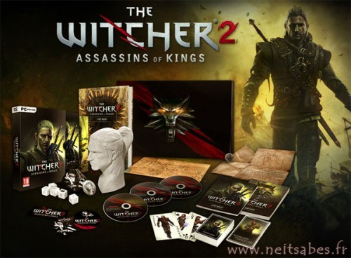 Déballage - The Witcher 2 Assassins Of King Collector Edition (PC).