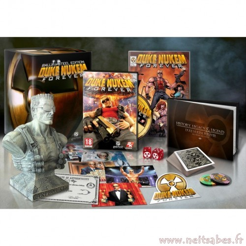 Pré-commande - Duke Nukem Forever Collector Balls Of Steel Edition (PC).