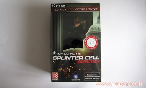Achat - Splinter Cell Conviction et Cities XL 2011 (PC)