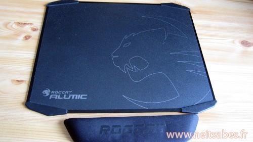 Test - Tapis de souris Roccat Alumic.