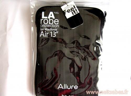 C'est arrivé ! - Souris Logitech G400 et Housse pour MacBook Air Be.ez Allure.
