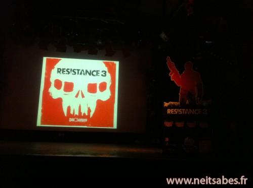 Compte-rendu - Soirée de lancement Resistance 3.