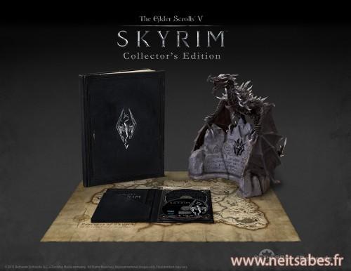 Skyrim Collector : une belle collector mais un peu chère.