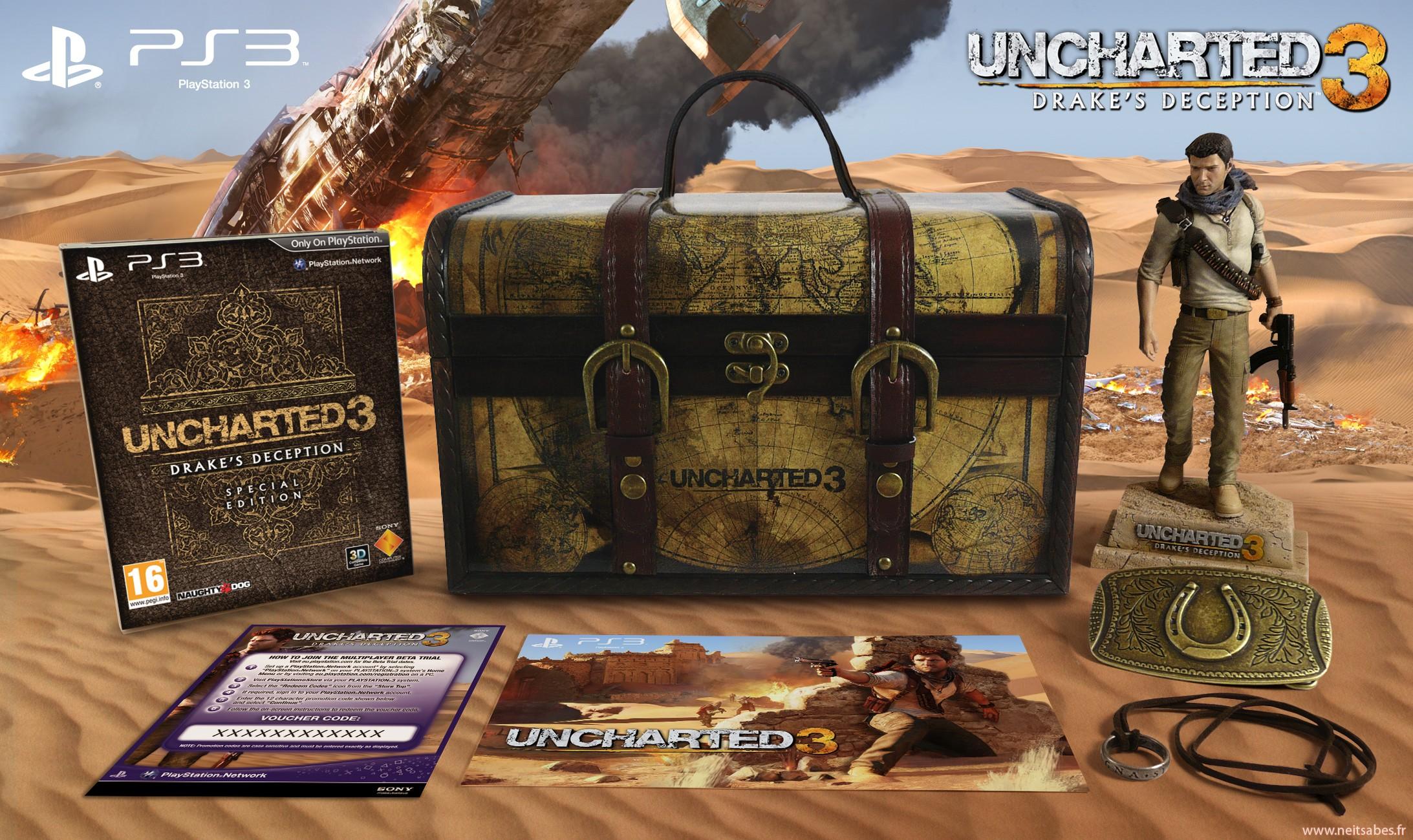 L'édition collector Explorer de Uncharted 3 dévoilée (PS3)
