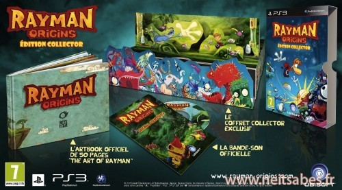 L'édition collector de Rayman Origins dévoilée !