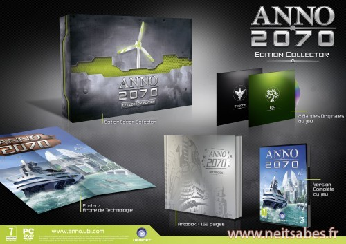 Pre-commande - Anno 2070 en version collector (PC)