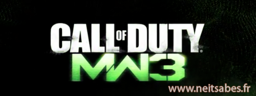 Call of Duty Modern Warfare 3 : le trailer qui annonce la couleur !