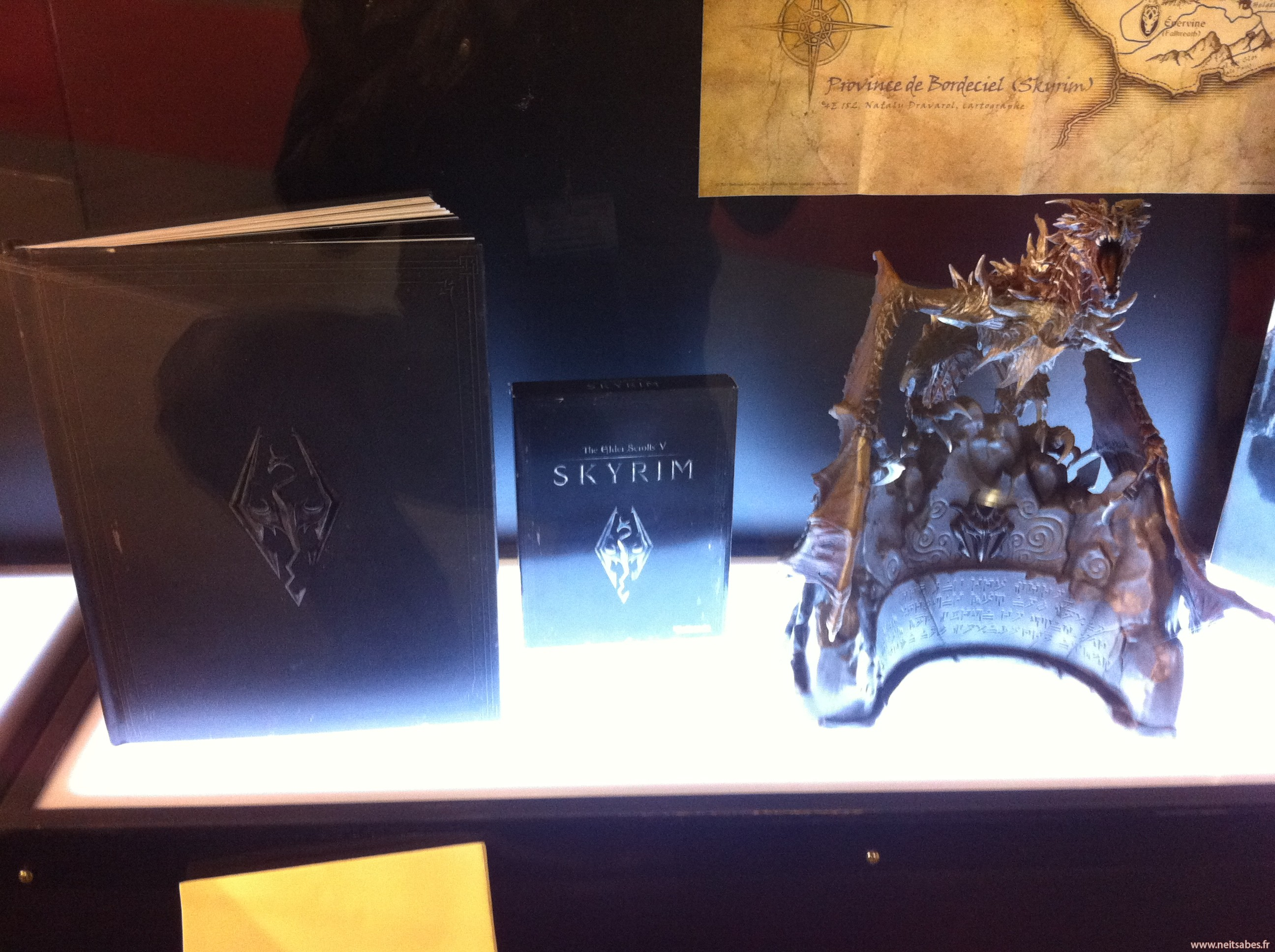 PGW : The Elder Scrolls V : Skyrim - Des images de la figurine du collector.
