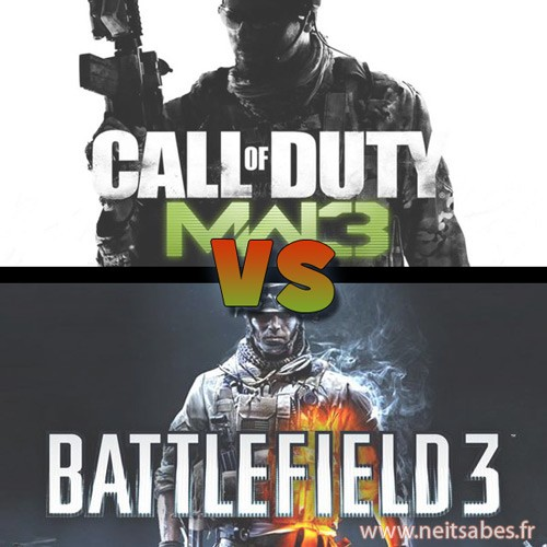 PGW - Battlefield 3 ou Call Of Duty : Modern Warfare 3 ?