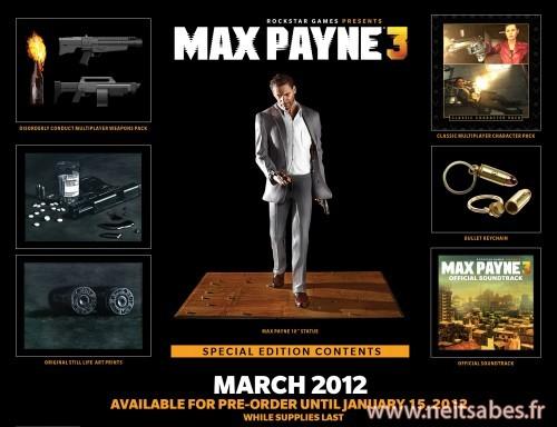 L'édition collector de Max Payne 3 dévoilée !