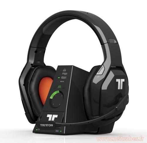 Tritton dévoile sa gamme de casque officiels Xbox 360 !