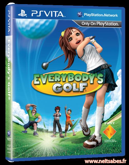 Everybody's Golf 6 sur Vita : la fausse rumeur du pass en ligne.