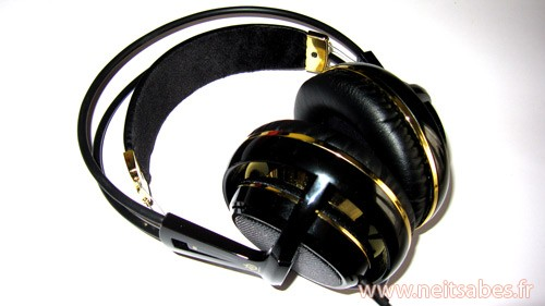 Test - Casque Steelseries Siberia V2 Black & Gold