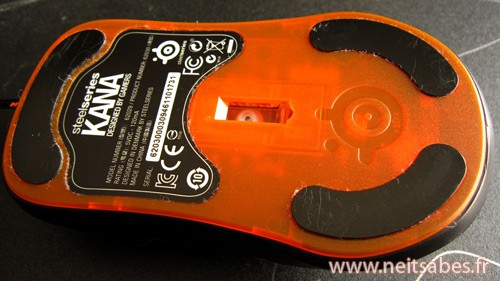 Test - Souris Steelseries Kana