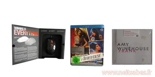 C'est arrivé ! - Amy Winehouse et souris Kana de Steelseries.