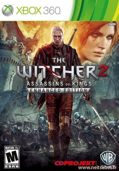 "The Witcher 2 sur Xbox 360 : deux éditions dont une collector ""Dark Edition"" !"