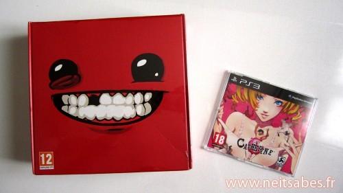 C'est arrivé ! - Super Meat Boy Ultra Rare Edition (PC) et Catherine (PS3)