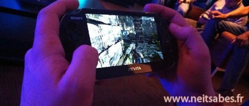 Soirée de présentation de la Playstation Vita