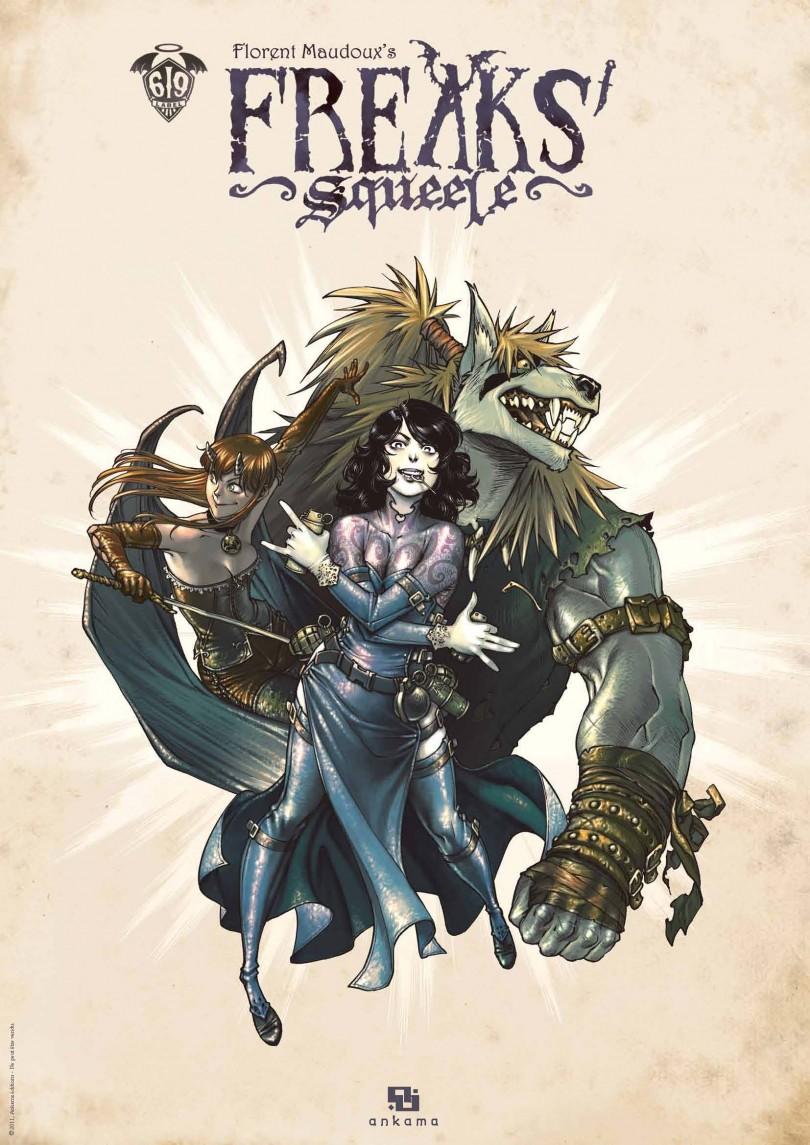 Concours #12 - Gagnez un poster collector de Freaks Squeele !