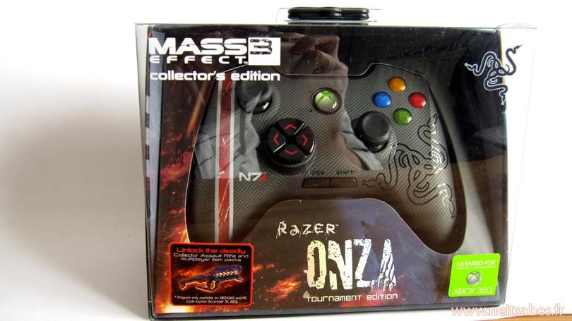 C'est arrivé ! - Manette Razer Onza Mass Effect 3 (Xbox 360 et PC)