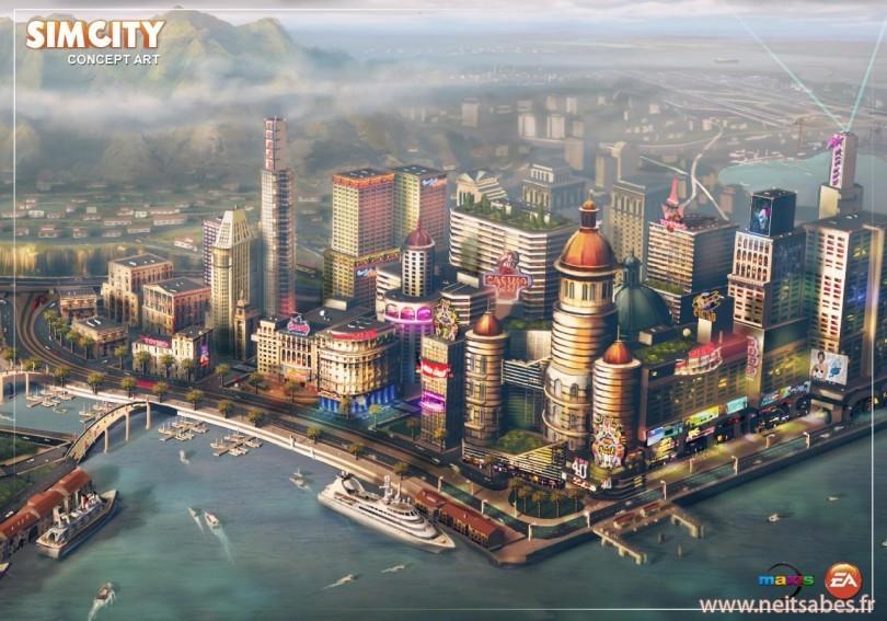 SimCity (5) : Origin non obligatoire, mais une connexion internet requise.