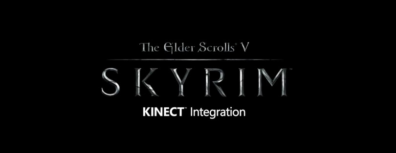 Skyrim compatible Kinect via un patch Xbox 360 !