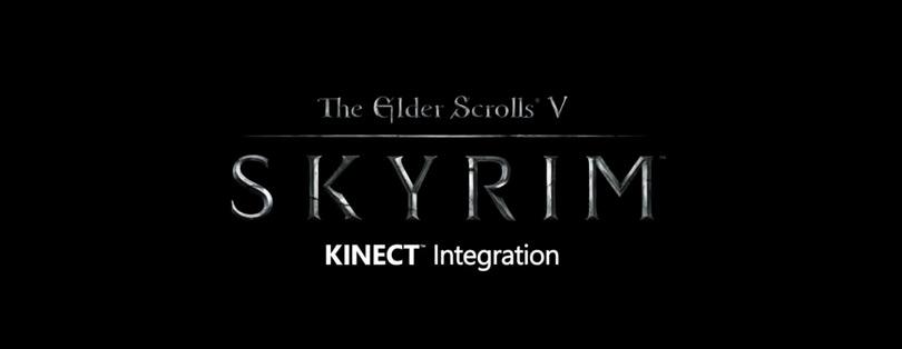 Skyrim compatible Kinect via un patch Xbox 360 !
