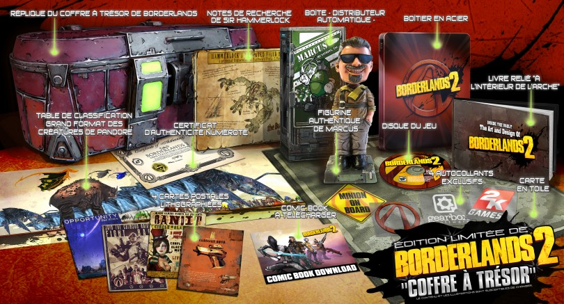 Borderlands 2 : les éditions collector !