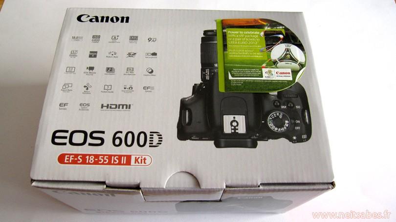 C'est arrivé ! - Canon EOS 600D + 15-55 mm