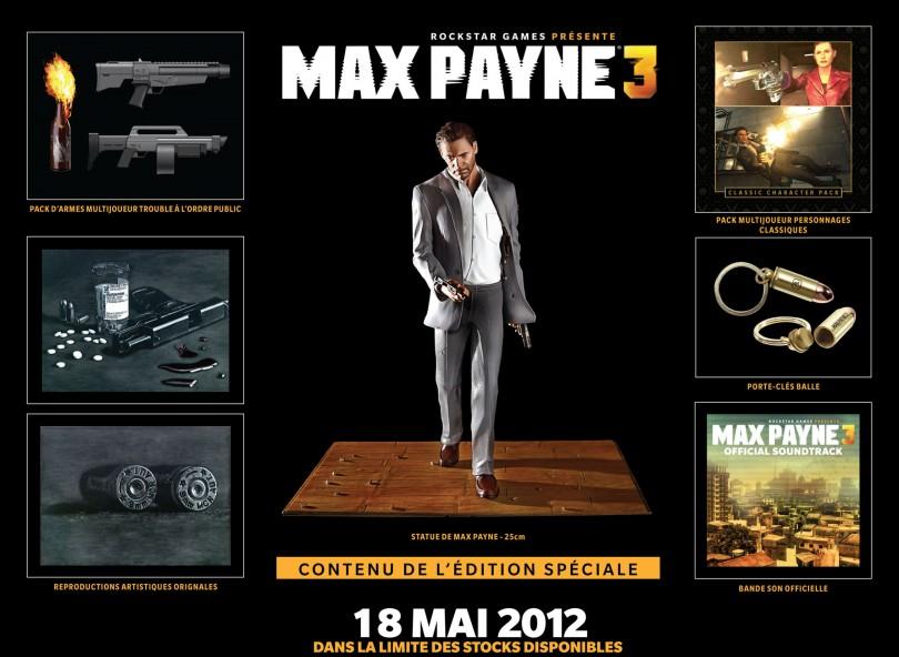 Max Payne 3 : Collector, Goodies, Guide : tout ce qu'il faut savoir !