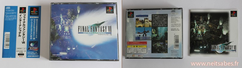 C'est arrivé ! - Final Fantasy VII International Edition (JAP)