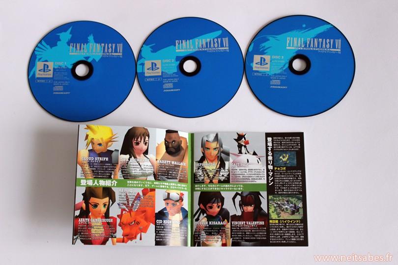 C'est arrivé ! - Final Fantasy VII International Edition (JAP)
