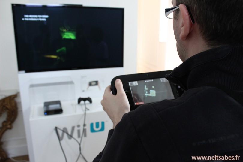 J'ai joué à la Wii U !