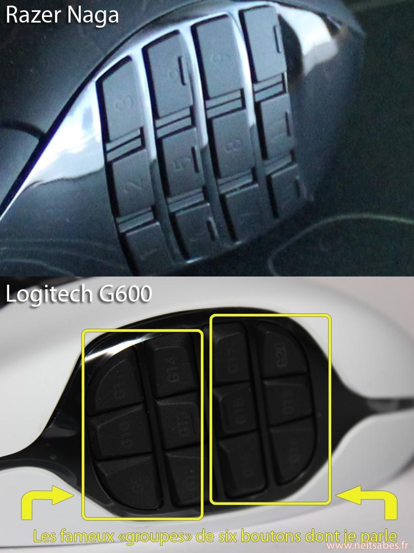 Test - Logitech G600