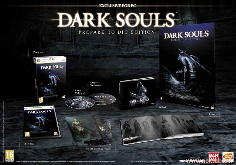 Dark Souls Prepare To Die Edition approche, sur PC !