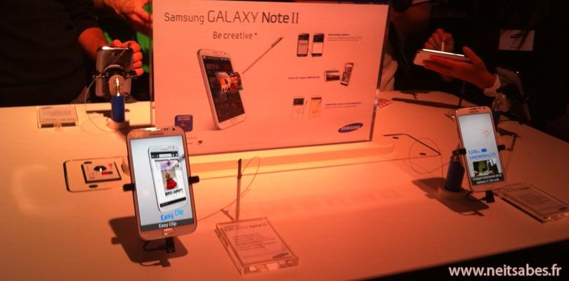 Soirée portes-ouvertes Samsung.