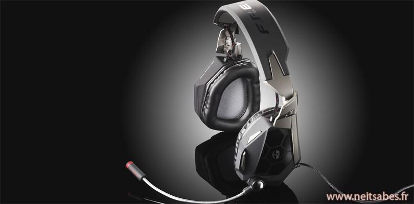 Test - Casque Cyborg FREQ 5