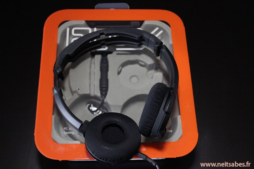 Test - Casque audio Steelseries FLUX.