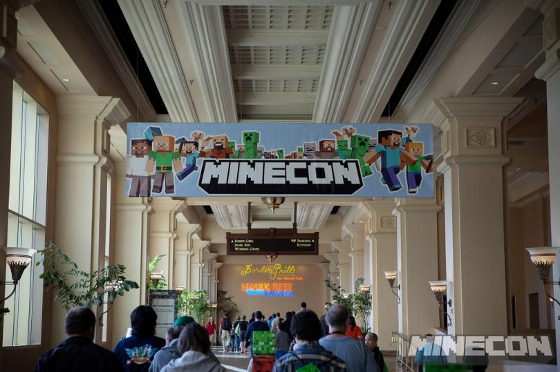Ce week-end, le 24 et 25 novembre 2012, c'est la MineCon 2012 !