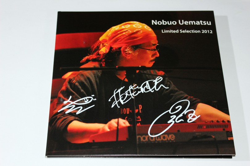 Nobuo Uematsu - Limited Selection 2012. L'album collector limité à 1000 exemplaires.