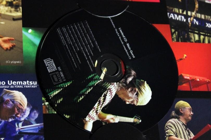 Nobuo Uematsu - Limited Selection 2012. L'album collector limité à 1000 exemplaires.