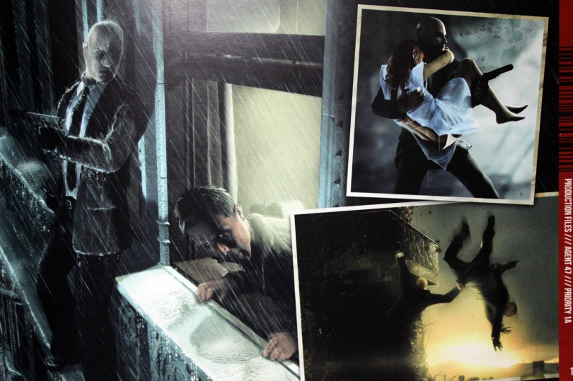 The Art Of Hitman Absolution, l'artbook de la Professionnal Edition.