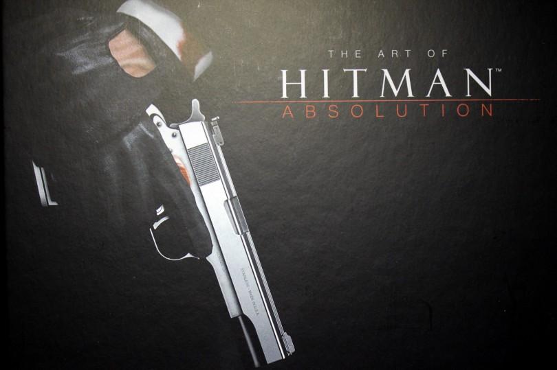 The Art Of Hitman Absolution, l'artbook de la Professionnal Edition.