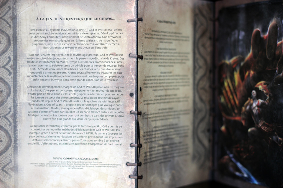 Présentation du Press Kit de God Of War 3 (PS3) (11)
