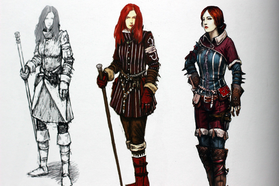 The Art Of The Witcher 2  Assassins of Kings (11)